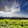Grand Tetons National Park in Western Wyoming. — Stock Photo #27227421