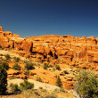 The beautiful Fiery Furnace — Stock Photo