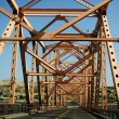 Stock Photo: View of Dalles Bridge
