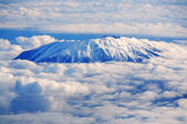 Mount St Helen's from the air — Stock Photo