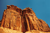 Beautiful view at arches national park — Stock Photo