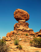 Balanced rock — Stockfoto