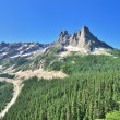 Stock Photo: View point on North Cascades Hwy