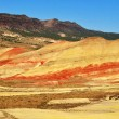 A View from the Painted Hills overlook — Stock Photo