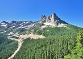 A View point on North Cascades Hwy — Stock Photo
