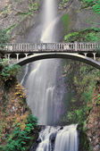 Closeup View Of Multnomah Falls — Stock Photo
