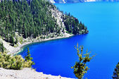 The beautiful view of Crater Lake — Stock Photo