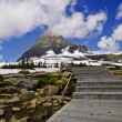 On the way to Hidden Lake in Glacier National Park, Montana. — Stock Photo