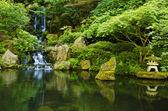 Japanese Garden Portland — Stock Photo