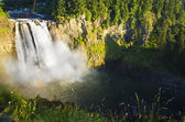 Snoqualmie Falls at Washington — Stock Photo