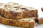 Mňam skořice chleba — Stock fotografie