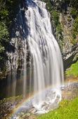 Beautiful narada falls in mt rainier — Stock Photo
