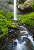 Upper ponytail falls — Stock Photo