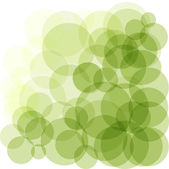 Green bokeh abstract light background. Vector illustration — Stock Vector