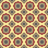Seamless Background With Ethnic Ornament — Vettoriale Stock