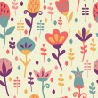 Cute Floral Seamless Pattern — Stock Vector #29136619