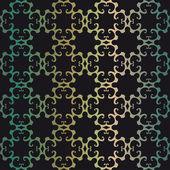 Bezešvé vzor s ornamenty — Stock vektor