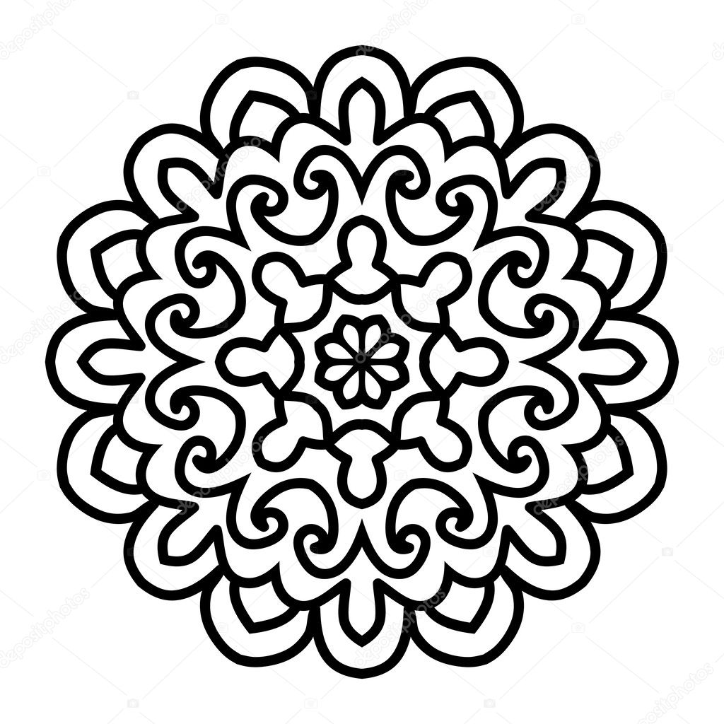 Awesome mandala vector images