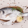 Stock Photo: Luxurious fish background. Seafood.