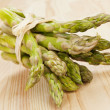 Stock Photo: Asparagus bundle.