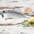 Stock Photo: Marine seafood background.