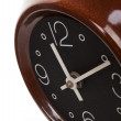 Retro clock from the sixties. — Stock Photo