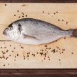 Stock Photo: Delicious seafood. Sebream.