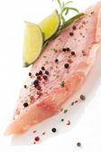 Filetto di pesce lussuoso. — Foto Stock