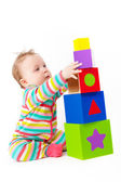 Baby playing. — Stock Photo