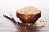 Asian cooking. Rice. — Stock Photo