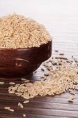 Fondo de arroz integral. — Foto de Stock