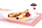Panquecas deliciosas. — Foto Stock