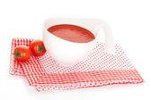 Zuppa di pomodoro deliziosa. — Foto Stock