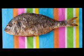 Grilled fish. — Stock Photo