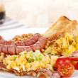 English breakfast. — Stockfoto