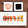 Luxurious nigiri sushi. — Stock Photo