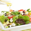 Fresh goat cheese salad. — Stock Photo #27198461