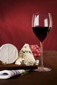 Dark red wine background. — Stock Photo