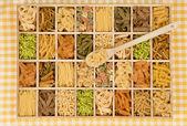 Pasta variation. — Stockfoto