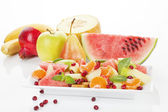 Delicious tropical fruit salad. — Stock Photo