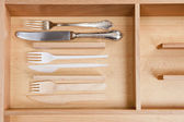 Cutlery - Ecology concept. — Stock Photo