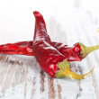 Stock Photo: Chili pepper background.