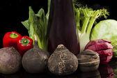 Vegetais orgânicos frescos. — Foto Stock