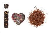 Variación del té. me encanta el té. — Foto de Stock