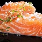 Fresh salmon close up. — Stock Photo #30887851