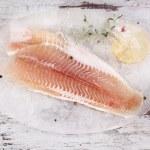 Filete de pescado congelado — Foto de Stock