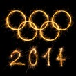 Stock Photo: Olympic games 2014.