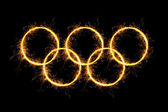 Olympic Rings. — Stock Photo