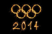 Olympic games 2014. — Stock Photo