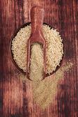 Dietary fiber.Detox concept. — Stock Photo